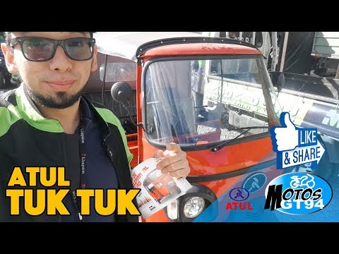 Tuk Tuk ATUL - Primeras impresiones - MotoVlog - motosGT94
