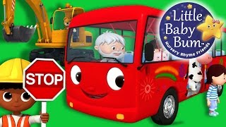 Wheels On The Bus | Part 14 | Nursery Rhymes | Original Version By LittleBabyBum!