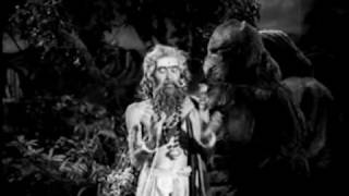 krishna and arjuna helping to agni deva in ntr sri krishnarjuna yuddam.