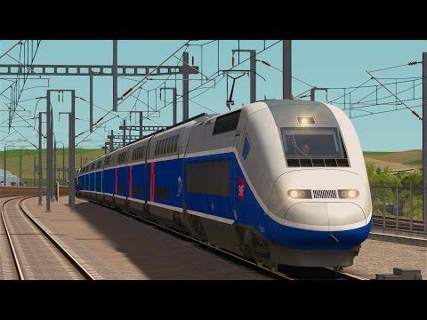 LET`S PLAY Train Simulator 2017 / Mit dem TGV Duplex von Marseille nach Avignon