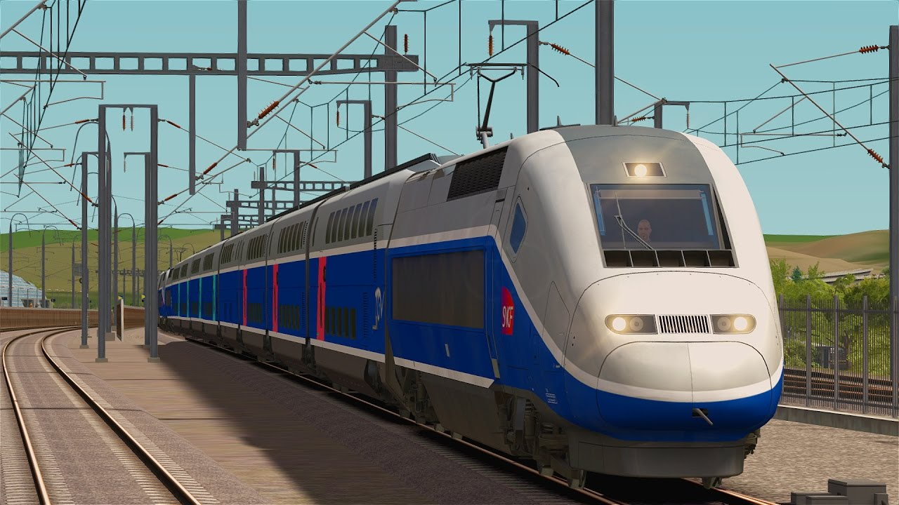 let s play train simulator 2017 mit dem tgv duplex von marseille nach avignon youtube. Black Bedroom Furniture Sets. Home Design Ideas