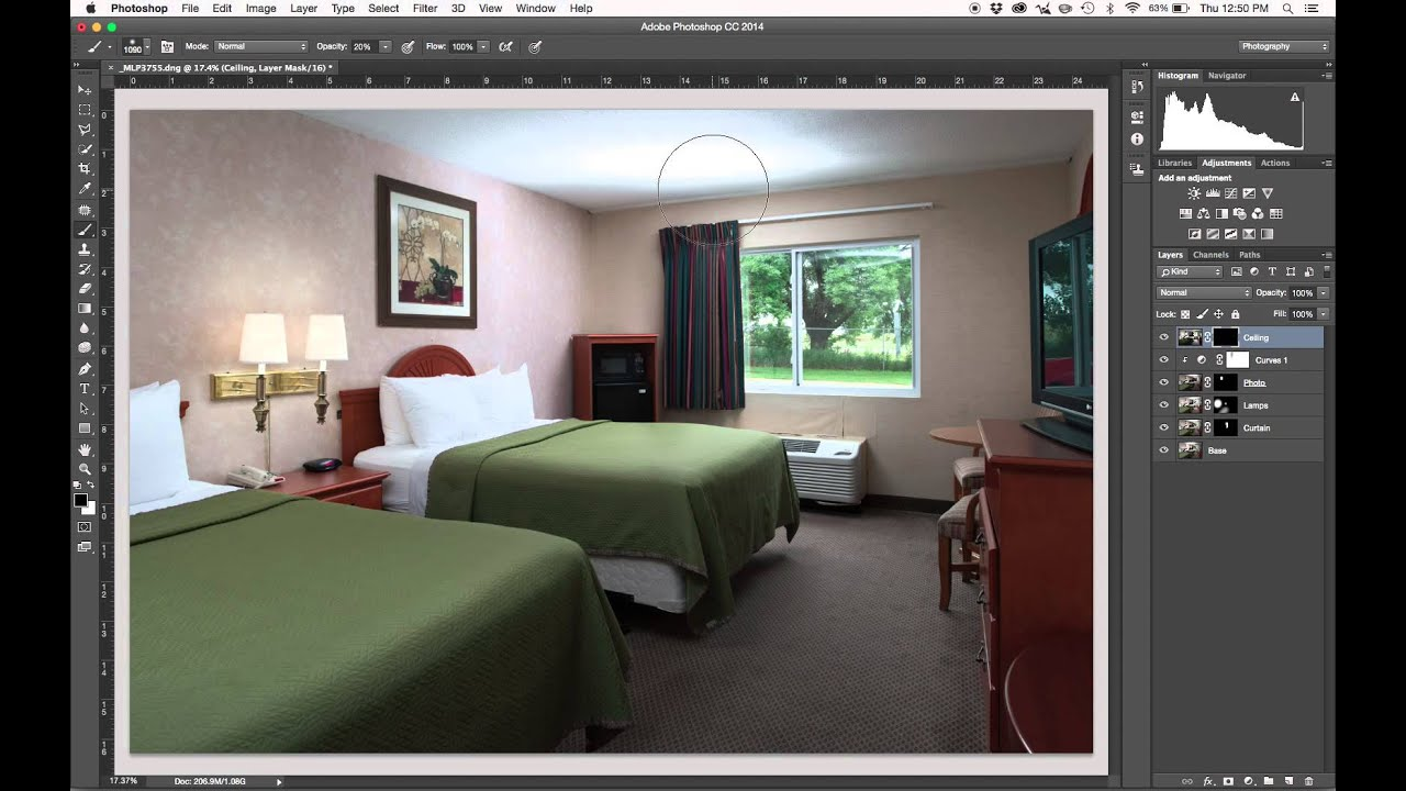 How To Composite Interior Photos In Photoshop CC