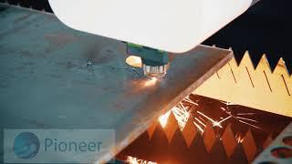 16mm carbon steel cutting by fiber 1500w