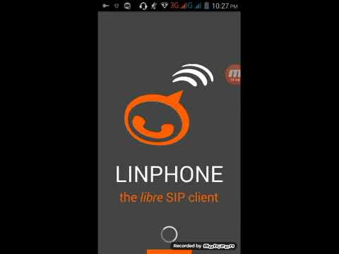 LinPhone Android SIP Settings Stey By Step Video.
