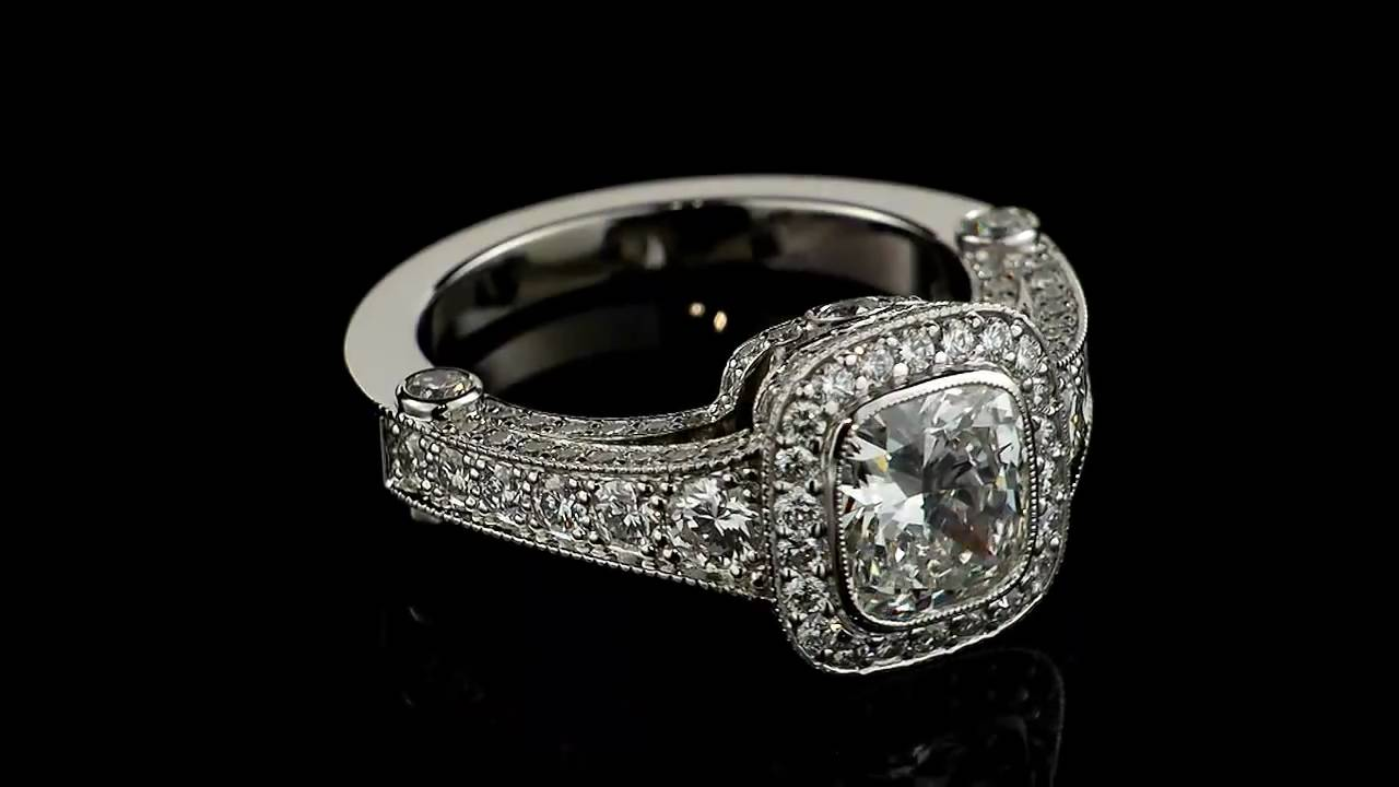 Tiffany Legacy Diamond Engagement Ring Hd Video Youtube