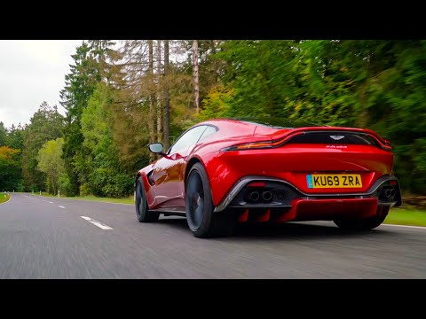 New MANUAL Aston Martin Vantage AMR – First Drive