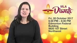 Alberta's NDP Caucus Diwali Celebration