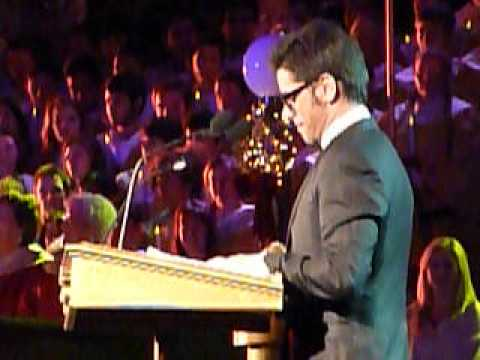 John Stamos - Candlelight Procession Ceremony at Disneyland - 12/20/12