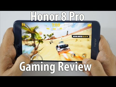 Honor 8 Pro Gaming Review 🎮  with Heavy Games & Temp Check