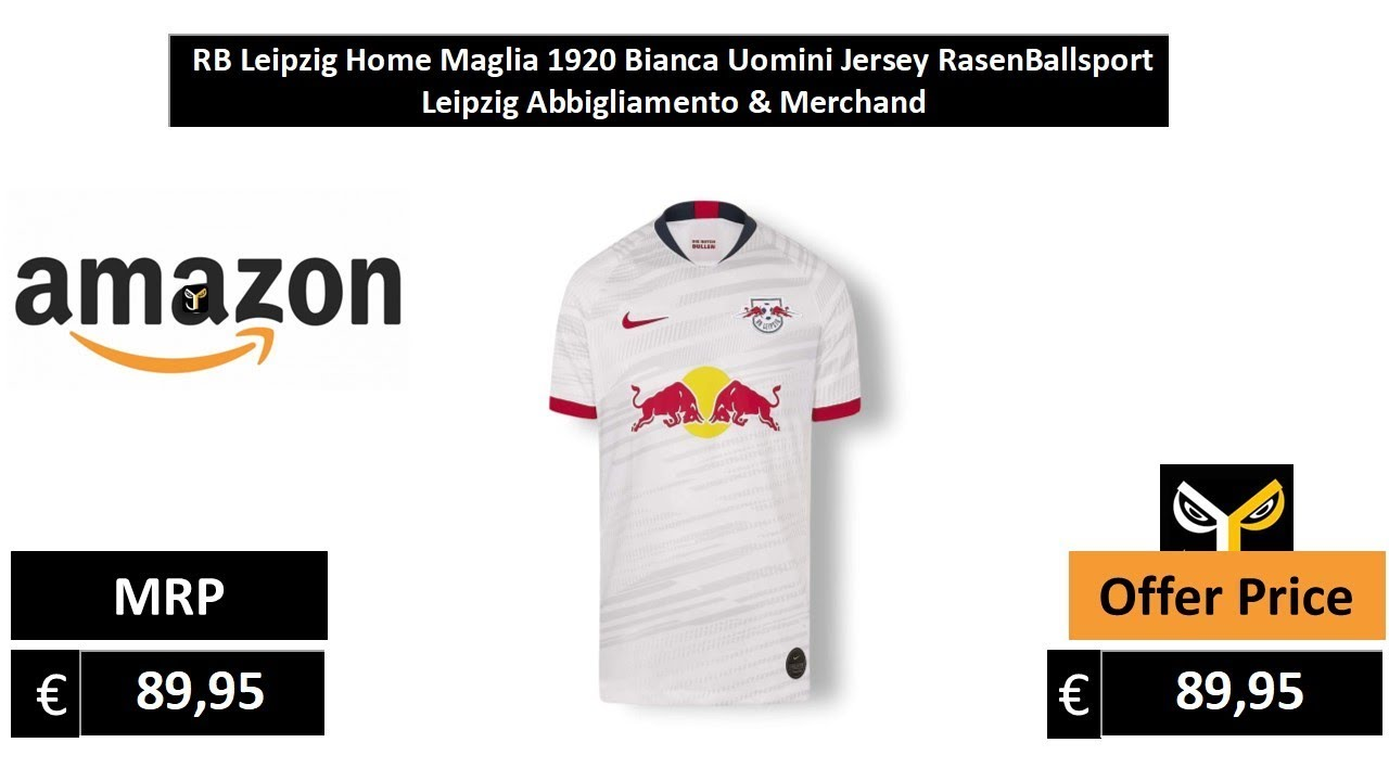 RB Leipzig Home Maglia 19/20 RasenBallsport Leipzig Abbigliamento ...