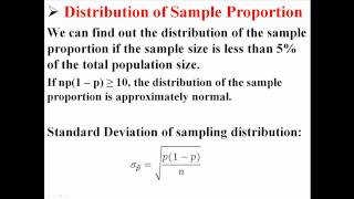 Sample Proportions