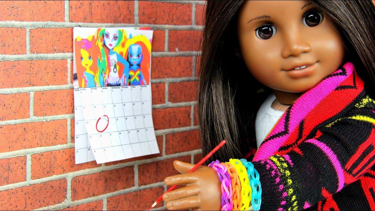 Mini Calendar 2014 Ag Dolls
