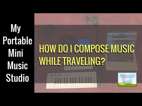 Portable Music Studio: The BEST music studio while traveling
