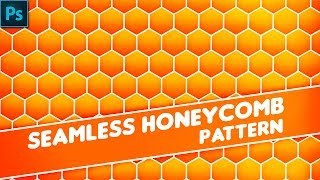 Photoshop Tutorial:How to create seamless honeycomb pattern.