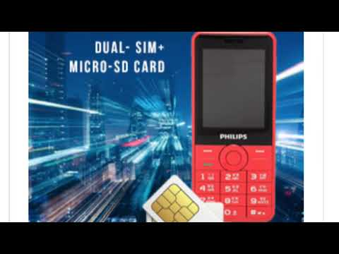 Philips E168 Dual Sim Mobile Review Full Specification amazon offer