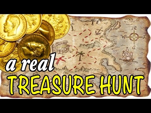 Hunting For Gold With A REAL Treasure Map?