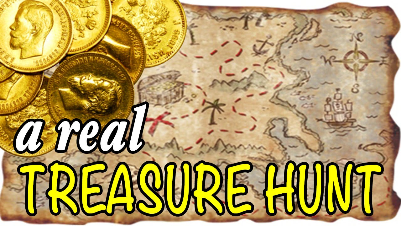 Real Treasure Maps Hunting For Gold With A REAL Treasure Map?   YouTube