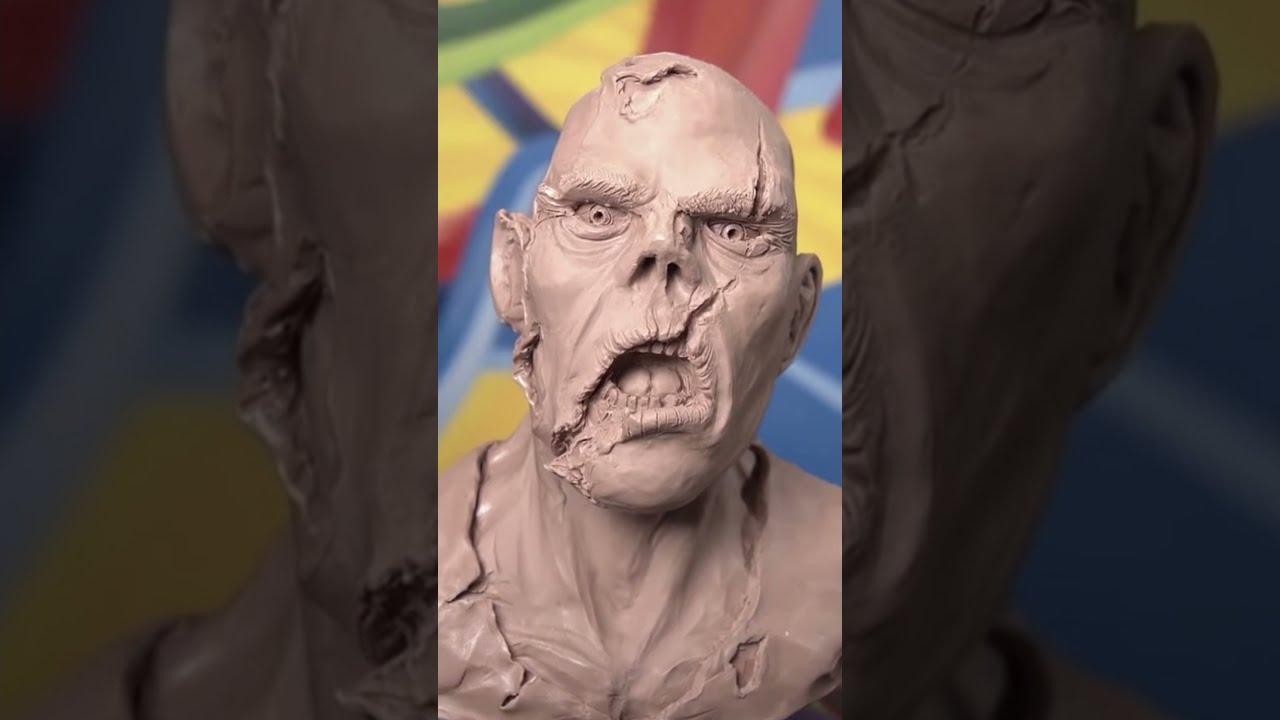 Let's Sculpt CHOCOLATE... #Shorts