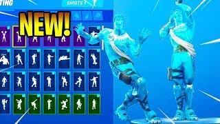 *NEW* FROZEN LOVE RANGER Skin With Dance Emotes! Fortnite Battle Royale