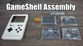 GameShell Assembly - Modular Handheld Retro Gaming Device