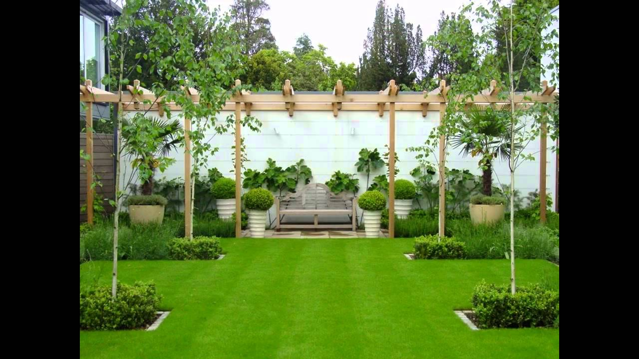 Best small garden trees youtube for Best house designs with garden