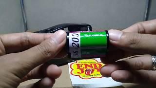 Cara Pasang dan Rewind Roll Film Kamera Poket Motorized Yashica EZ View