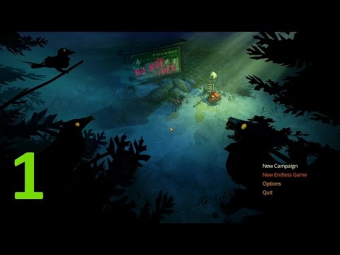 Let's do a bit of; The flame in the flood - E1