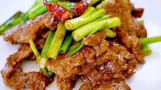 美國著名蒙古牛肉的家庭做法 【美食天堂 CiCi's Food Paradise】