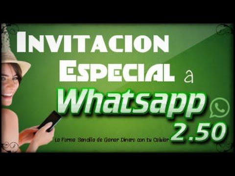 Invitacion a Whatsapp 2 50