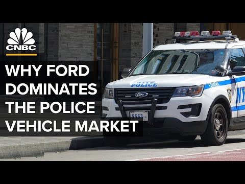 Why Ford Dominates The Market For Police Vehicles
