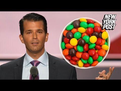 The history of racism behind Donald Trump Jr.'s Skittles tweet