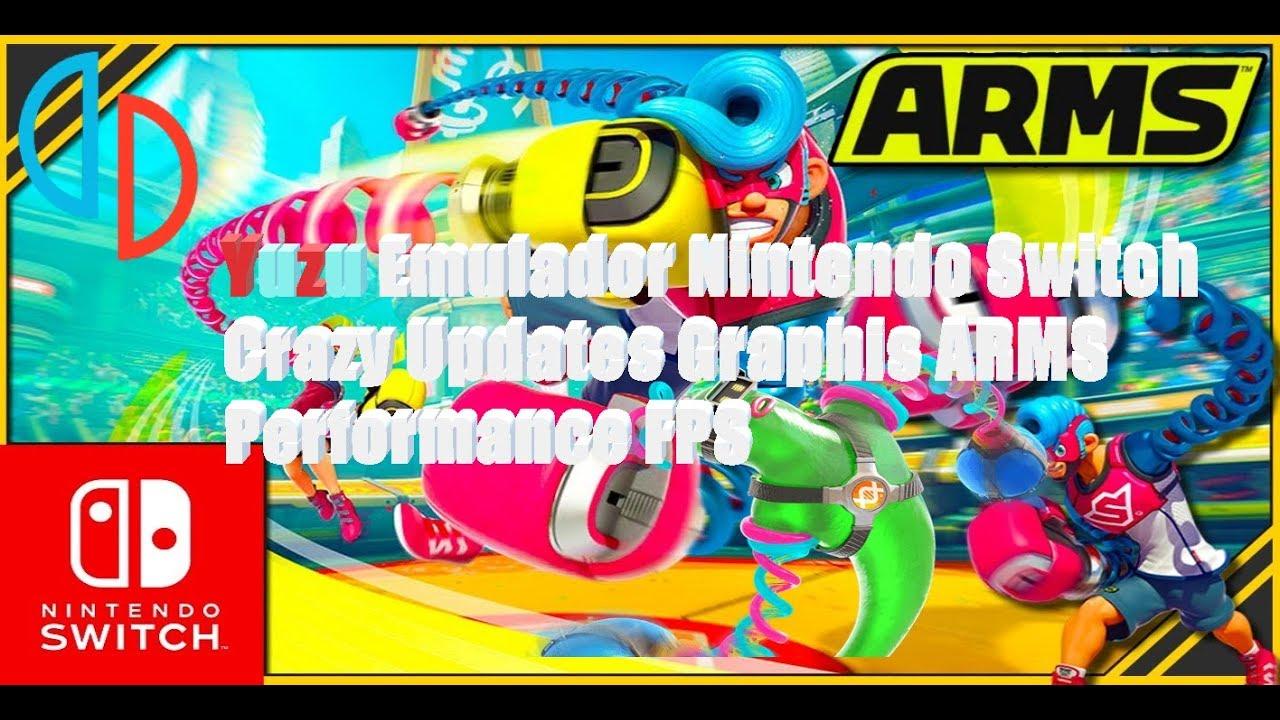 Yuzu Emulator Nintendo Switch |Crazy Updates Graphics ARMS