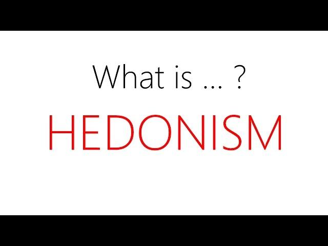 hedonism philosophy definition - 480×360