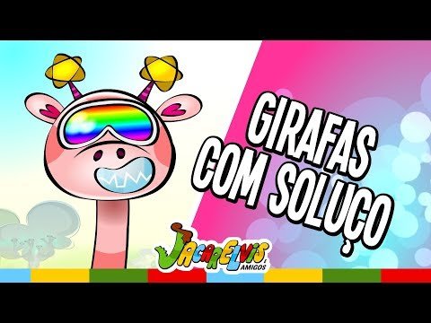 DESENHO INFANTIL - Girafas com soluço! (**NOVO - Jacarelvis 03)