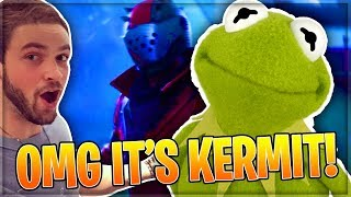 Funny KERMIT and MICKEY MOUSE Voice Troll 13 Year Old ALI-A FAN!