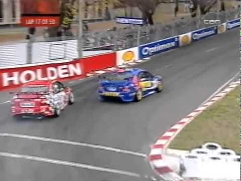 V8 Supercars Flashback - Marcos Ambrose Crashes Into Jason Bright (Canberra 2002)