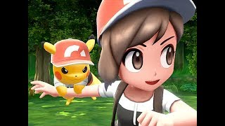 Pokemon Let's Go Pikachu and Eevee Gameplay (Nintendo Switch)
