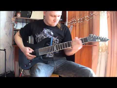 Waking The Cadaver -  Blood Splattered Satisfaction (guitar cover)