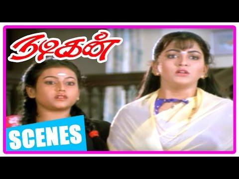 Nadigan Tamil Movie | Scenes | Manorama intro as strict aunt | Sathyaraj supports Manorama | Kushboo