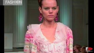 OSCAR DE LA RENTA    London Spring Summer 2011   Fashion Channel