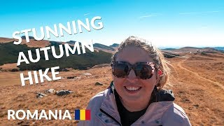 Hiking to Sfinxul din Bucegi (natural rock Sphinx in Romania) | Romania travel vlog