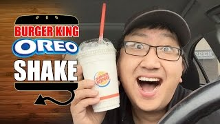 Burger King Oreo Shake Ken Domik Style Review  |  Hellthyjunkfood