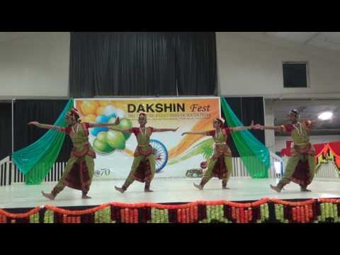 Tanvi's dance performance in Dakshin Fest 2017