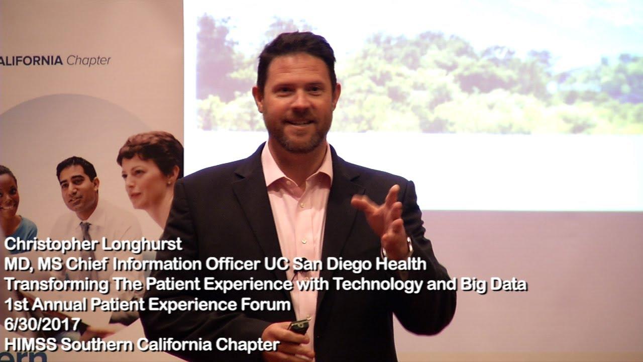 Christopher Longhurst MD MS CIO UC San Diego Health