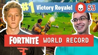 FORTNITE KILL WORLD RECORD! 53 Kills - Full Gameplay