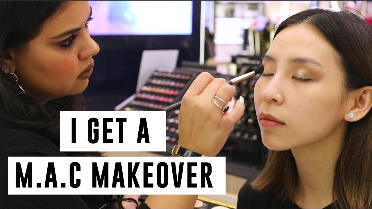 I Get A Makeover at M.A.C