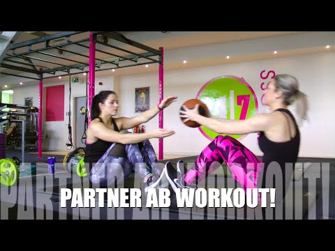 Training Partner Abs with Jo! 5 Core Strengthening Moves!