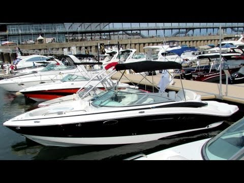 2012 Azure AZ258 Motor Boat - Exterior And Interior - Montreal In-Water Boat Show