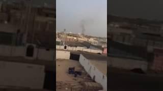 بالفيديو والصور..ننشر أول لقطات من الاشتباكات بين الأمن السعودى وإرهابيين بجدة