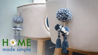 DIY: Old World Mexican Tassels | Home Made Simple | Oprah Winfrey Network
